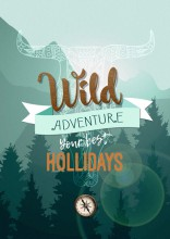 affiche wild holiday