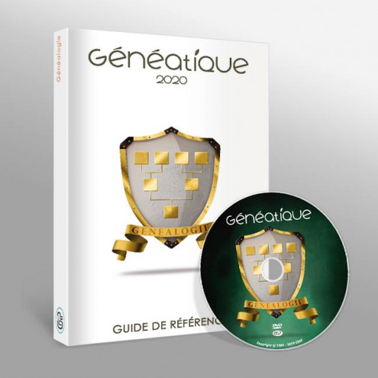 Guide de référence et DVD-ROM de Généatique 2020