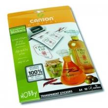 Papiers - 12 - Canson papier adhésif transparent
