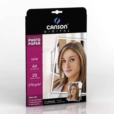 Papiers - 08 - Canson Digital Ultimate papier photo satiné