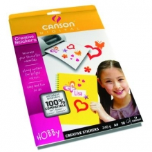 Papiers - 10 - Canson Digital Creative Stickers