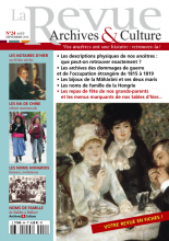 La revue archives et culture - 24