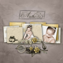 Little sweet notes kit ballet shoes v4