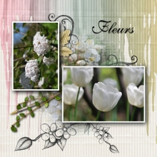 Little sweet notes kit flowers v4