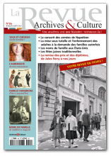 La revue archives et culture - 16