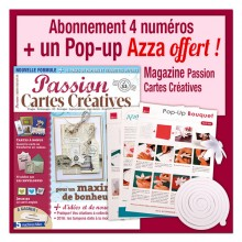 Abonnement 1 an au magazine Passion Cartes Créatives