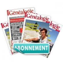 La Revue Française de Généalogie - Abonnement