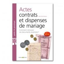 Livres-genealogie-21-actes-contrats-et-dispenses-de-mariage