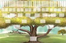 Pack arbre - 01 - arbre-ascendant-paysage-6-generations