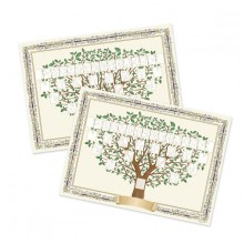 Noel - 2 arbres 5 generation
