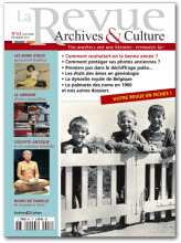 La revue archives et culture - 13