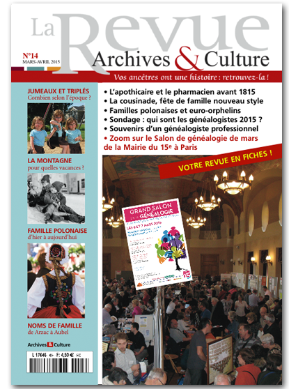 Archives et Culture n°14