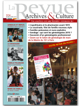 La revue archives et culture - 14