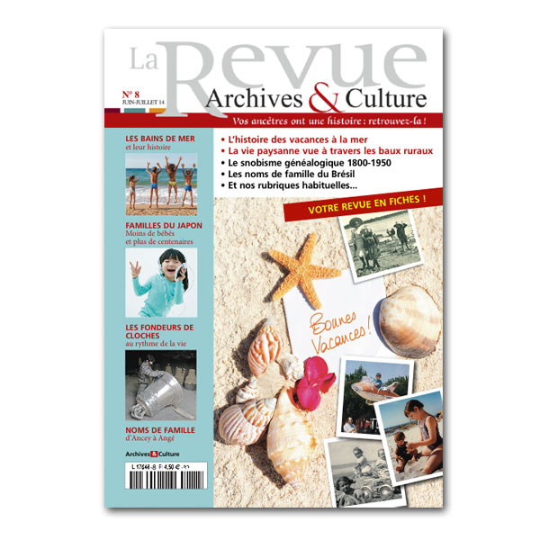 Archives et Culture n°8