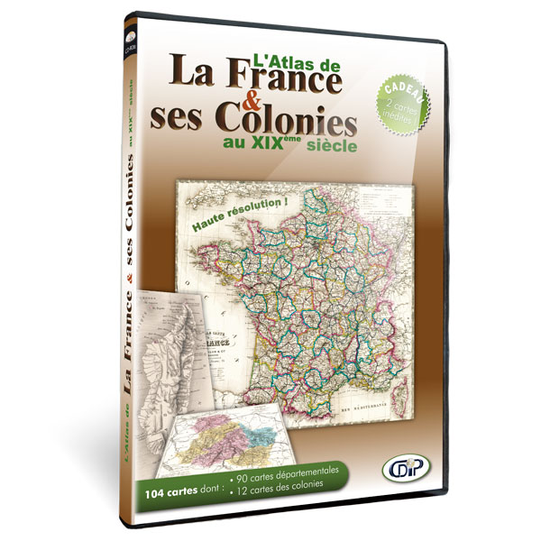 Atlas de France et de ses colonies