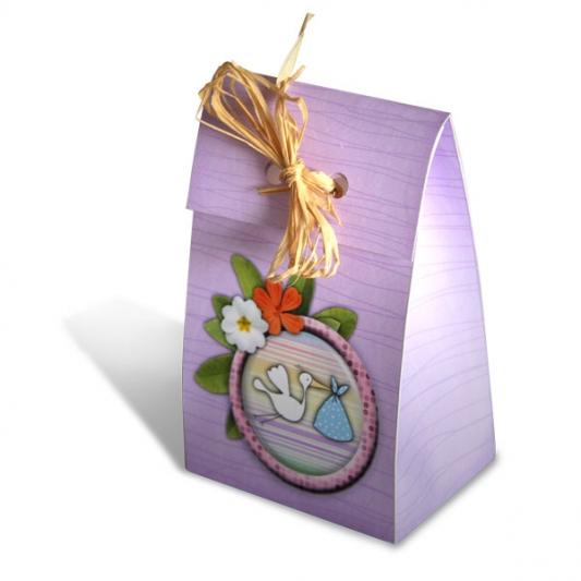 Baby-Scrap - 03 - Boîte violette