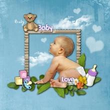 Baby-Scrap - 08 - Composition