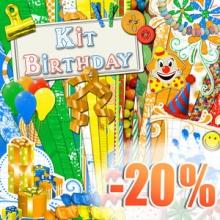 « Birthday » digital kit - 00 - Presentation - 20 ans