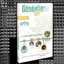 Boite Généatique 2016 pour la généalogie