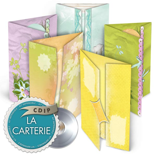 Carterie collection Souffle printanier  - 01 - Presentation