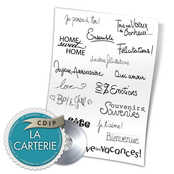 Carterie collection Souffle printanier  - 03 - Presentation
