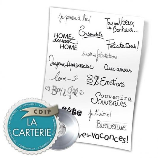 Carterie collection Souffle printanier  - 03 - Presentation