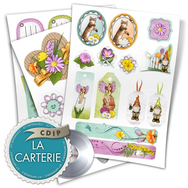 Carterie collection Souffle printanier  - 05 - Presentation