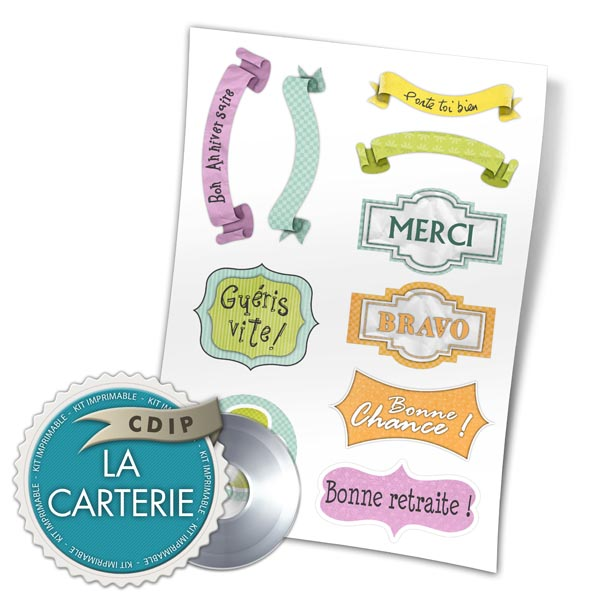 Carterie collection Souffle printanier  - 06 - Presentation