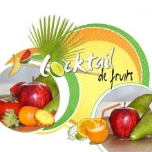 Kit « Cocktail fruité » - 12 - Composition