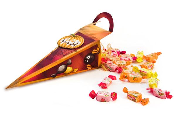 Cornet de bonbons - halloween 2011