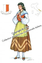 costumes traditionnels italiens puglia