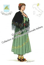 costumes traditionnels italiens veneto