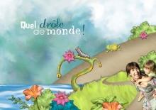 Kit « Les rêves de Prune au jardin magique » - 27 - Composition