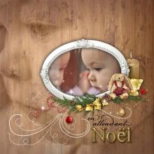Kit « Joyeux noel » - 25 - Composition