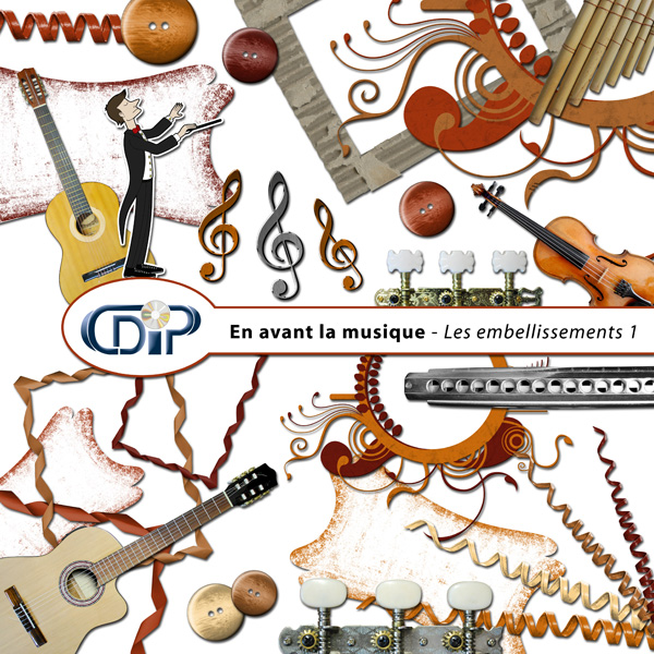 Kit « En avant la musique » - 02 - Les embellissements 1