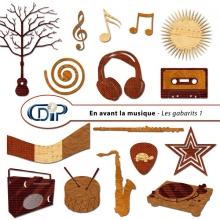 Kit « En avant la musique » - 05 - Les gabarits 1