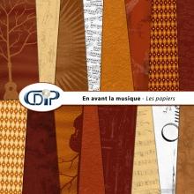 Kit « En avant la musique » - 01 - Les textures