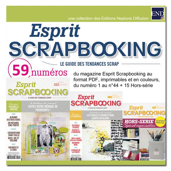 Esprit sccrapbooking sur cd