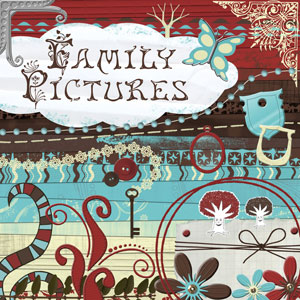 « Family pictures » digital kit - 00 - Presentation