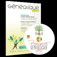 Abonnement à Généatique Info pour un an + Passeport Généatique