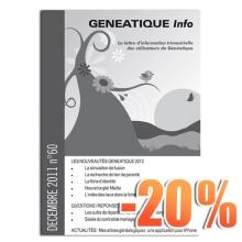 Ginfo - 00 - Abonnement « Généatique Info » par courrier - 20 ans