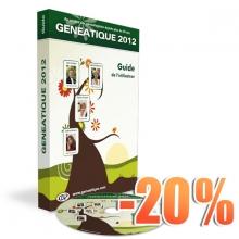 G2012 - 00 - Généatique  2012 option Cd-Rom + guide - 20 ans