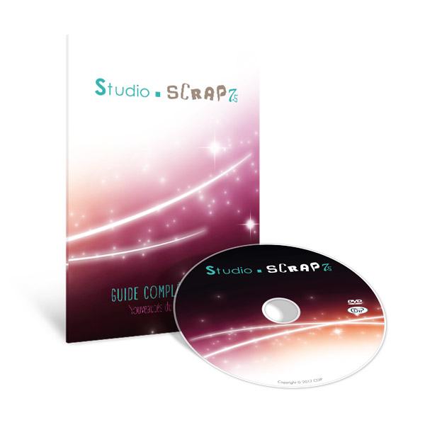 Guide complémentaire et DVD Studio-Scrap 7.5