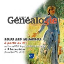 Vg - 01 - anciens numeros « Votre Généalogie »