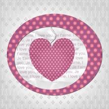 Modèle de carte « Cartes d'amour » - 10 - Compositon