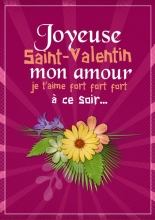 Modèle de carte « Cartes d'amour » - 13 - Compositon