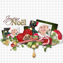 Kit « Joyeux noel » - 13 - Composition