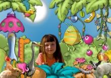 Kit « Les rêves de Prune au jardin magique » - 22 - Composition