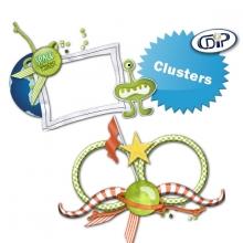 Kit « A la conquête de l'espace » - 09 - Les clusters