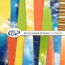 Kit « A la conquête de l'espace » - 01 - Les textures